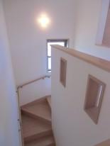 A様邸階段2