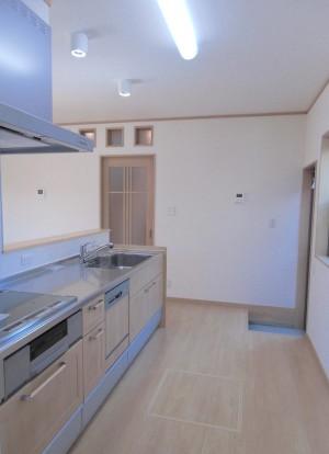A様邸キッチン2